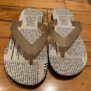 John Galliano Gazette Flip Flops 41
